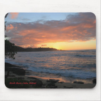 North Shore Oahu Surf Mouse Pad