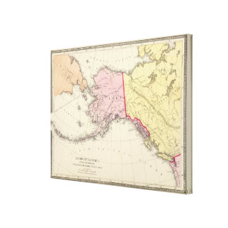 North West America Gallery Wrapped Canvas