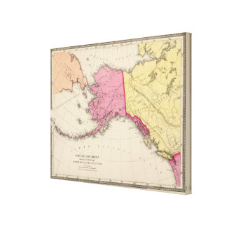 North western America Stretched Canvas Prints