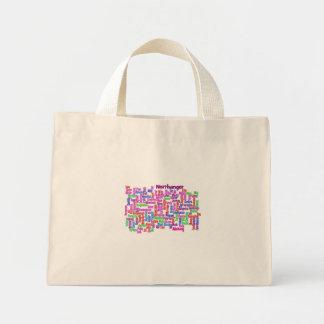 Northanger Abbey Wordcloud Mini Tote Bag