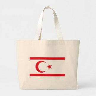 northern cyprus jumbo tote bag