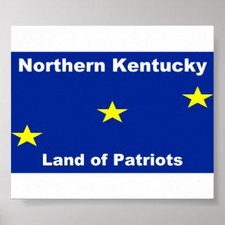 Northern Kentucky Flag Poster