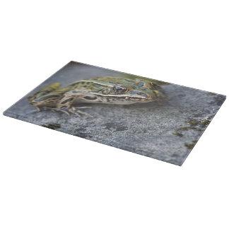 Northern Leopard frog, See-through Island, Cutting Board