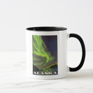 Northern Lights and Orcas - Skagway, Alaska Mug