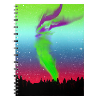 Northern Lights - Aurora Borealis Note Books