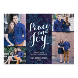 Northern Lights Holiday Photo Card Personalised Announcement