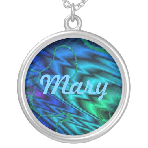 Northern Lights Name Necklace