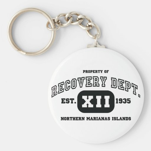 NORTHERN MARIANAS ISLANDS Recovery Key Chains