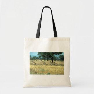 Northern (Nubian) Giraffe - Running Canvas Bag