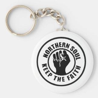 Northern Soul Key Ring