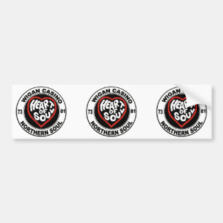 Northern soul Wigan Casino Bumper Sticker