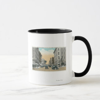 Northern View of Washington Street from Court Mug