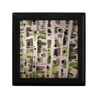 Northside of Birch Trees Gift Box