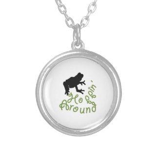 Northwoods Round Pendant Necklace