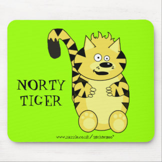 Norty Tiger Mousemat