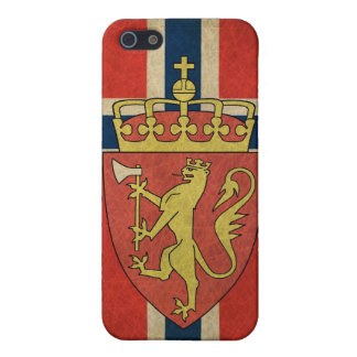 Norway Flag Coat of Arms Case For iPhone 5/5S