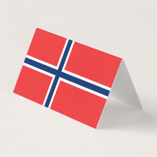 Norway Flag Place Card