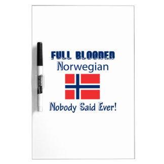 Norwegian  citizen design dry erase board
