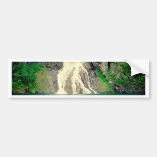 Norwegian Waterfall 2 Bumper Sticker