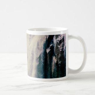 Norwegian Waterfall Basic White Mug