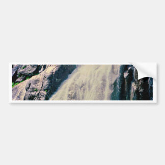 Norwegian Waterfall Bumper Sticker