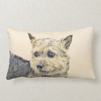 Norwich Terrier Lumbar Cushion