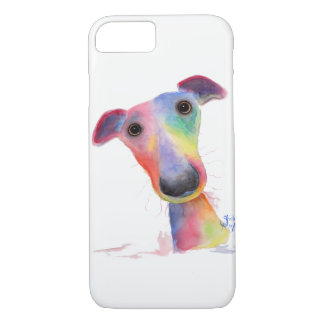 Nosey Dog Whippet Greyhound Iphone Galaxy Case