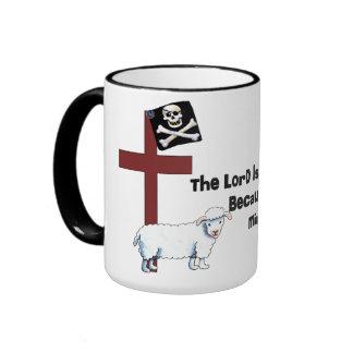 Not A Mindless Sheep Ringer Mug