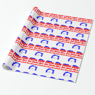 Not All Old White Men Are Created Evil Wrapping Paper