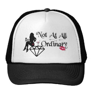 NOT AT ALL ORDINARY HAT