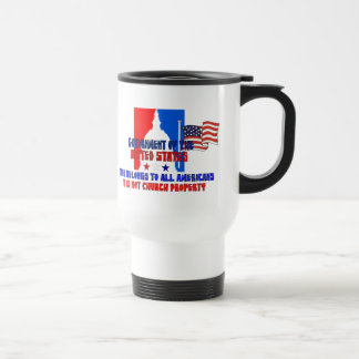 Not Church Property Stainless Steel Travel Mug