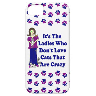 (Not Crazy) Cat Lady iPhone 5 Cases