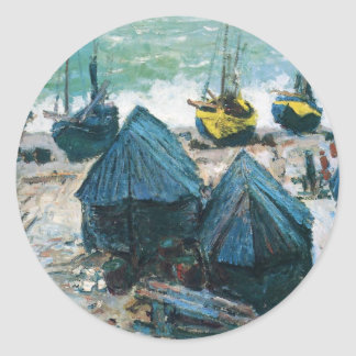NOT DETECTED by Claude Monet Classic Round Sticker