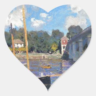 NOT DETECTED by Claude Monet Heart Sticker