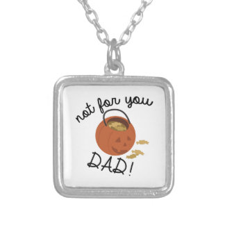 Not For Dad Square Pendant Necklace