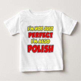 Not Just Perfect Polish Baby T-Shirt