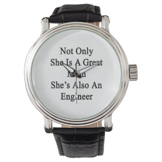 Not Only She Is A Great Mom She's Also An Engineer Watch