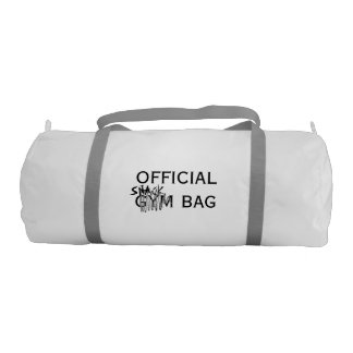 Not so discreet gym bag gym duffel bag