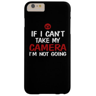 NOT WITHOUT CAMERA BARELY THERE iPhone 6 PLUS CASE