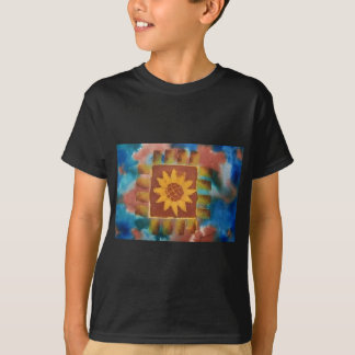 Not Your Granny's Sunflower Quilt Square T-Shirt