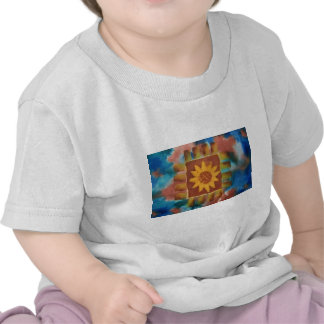 Not Your Granny's Sunflower Quilt Square T Shirts