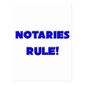 Notaries Rule Postcards