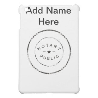 NOTARY PUBLIC ACCESSORIES iPad MINI COVERS