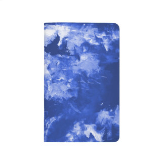 Note Book - Blue Abstract - great movement