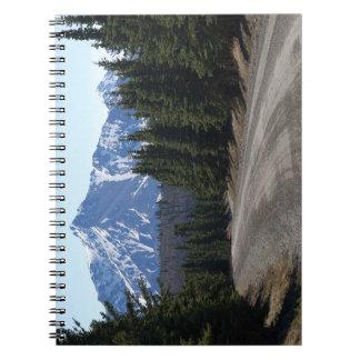 Note book landscape in Alaska