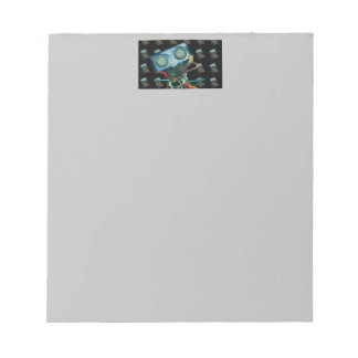 Note Pad with Robot Inspired Design