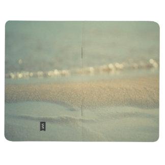 Notebook diary pad is ocean blue office school journal