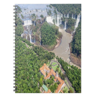 Notebook Falls of Iguazú