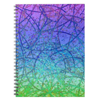 Notebook Grunge Art Abstract