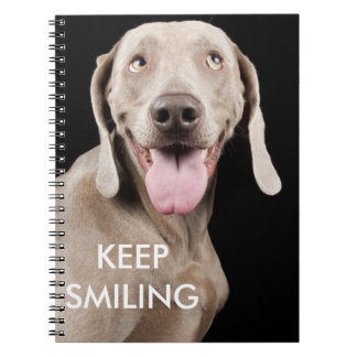 Notebook Keep Smiling